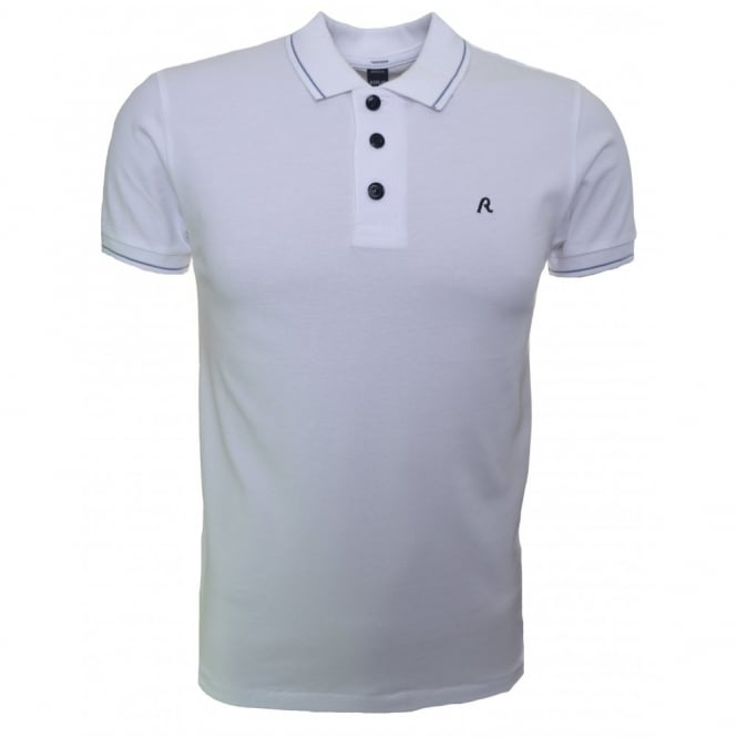 Replay Men's White Polo Shirt