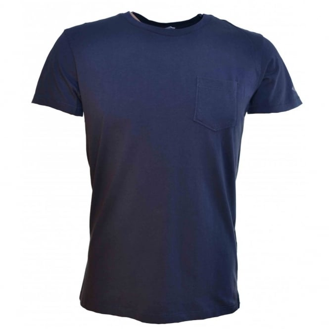 color brilliancy professional design rational construction Replay Replay Mens Plain Navy Blue T-Shirt