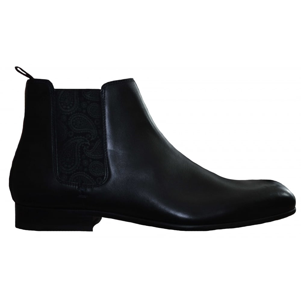 c63bb4a5293ae Ted Baker Black Kayto Leather Chelsea Boots