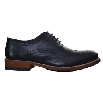 Ted Baker Guri 7 Black Oxford Brogue Shoes