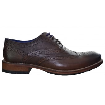 Ted Baker Guri 7 Brown Oxford Brogue Shoes