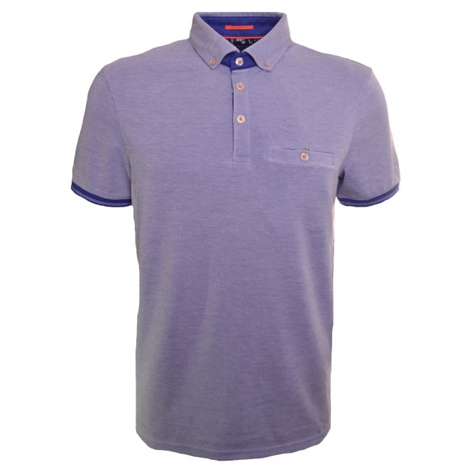 Ted Baker Men's Abadaba Blue Polo Shirt