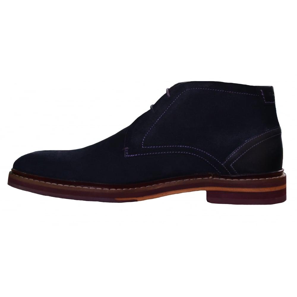 a6e0b271d Ted Baker Men  039 s Azzlan Dark Blue Suede Boots