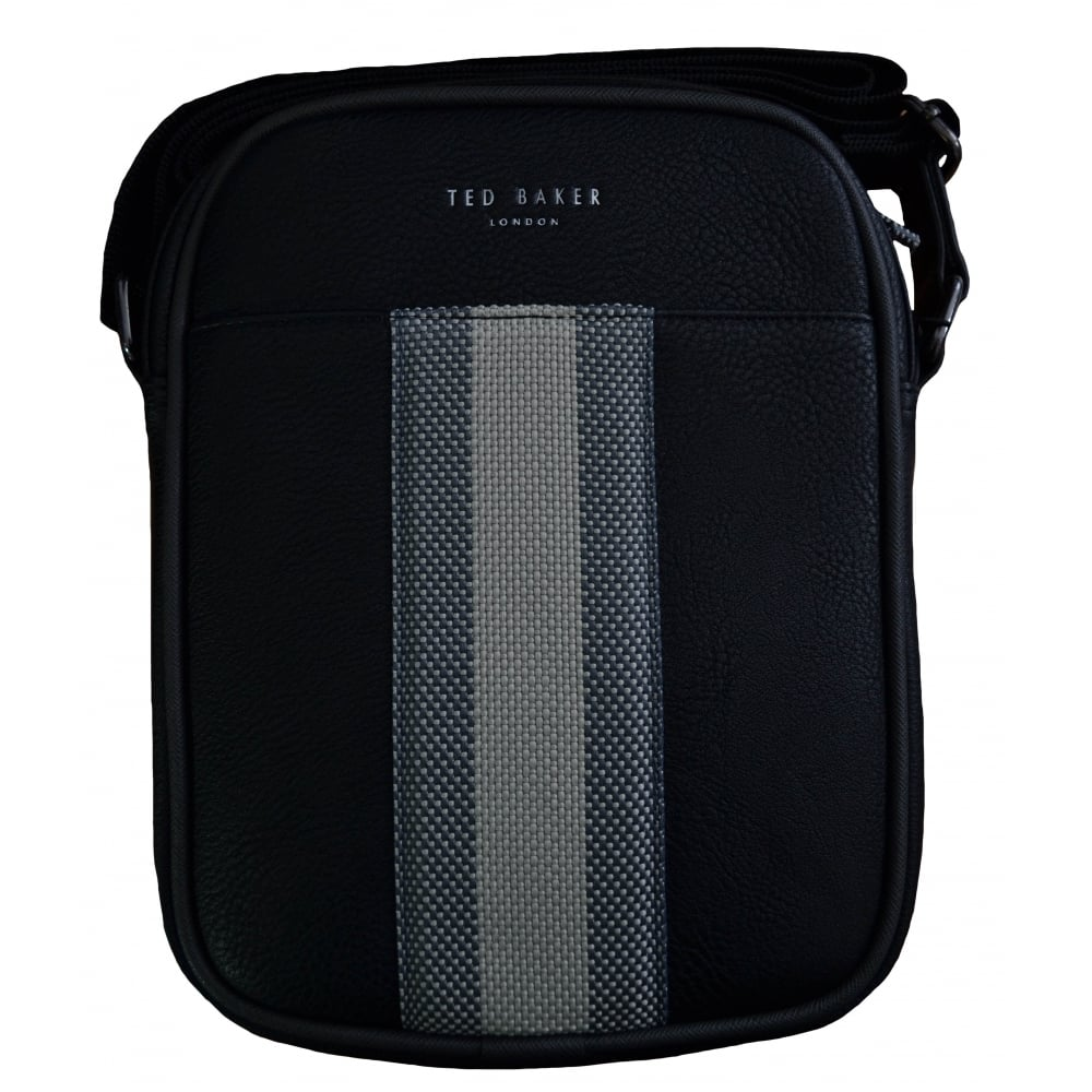 the latest 7b08f 723b8 Ted Baker Ted Baker Men's Black Edwards Mini Flight Bag