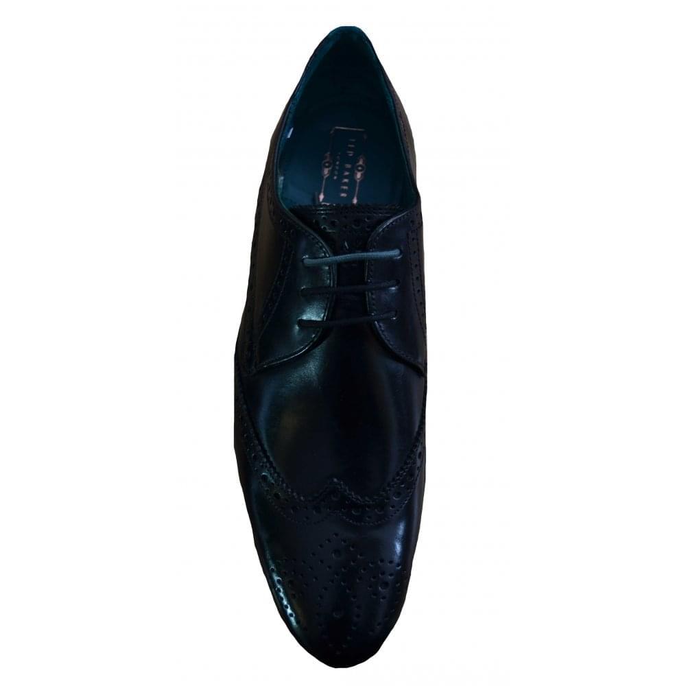 3e348f3d8fd5a Ted Baker Men  039 s Black Hosei Brogue Shoes