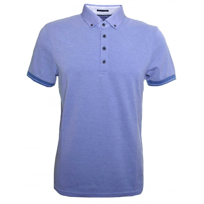Ted Baker Men's Blue Branin Polo Shirt
