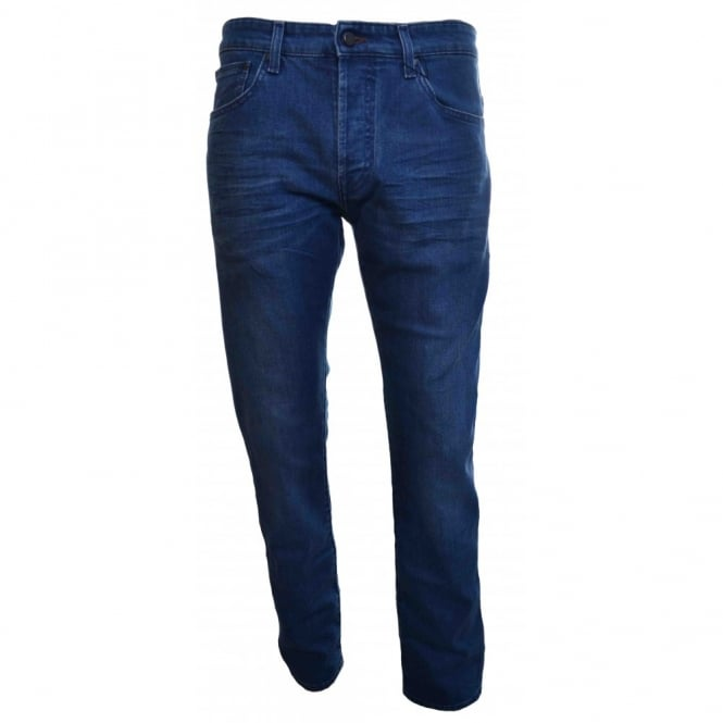 Ted Baker Men's Blue Oulmate Original Fit Jeans
