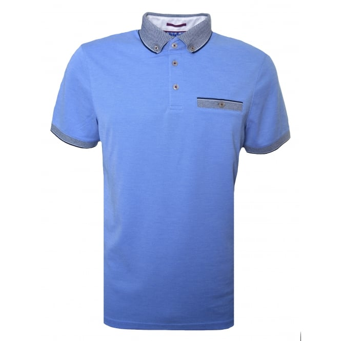 Ted Baker Men's Blue Shapiro Polo Shirt