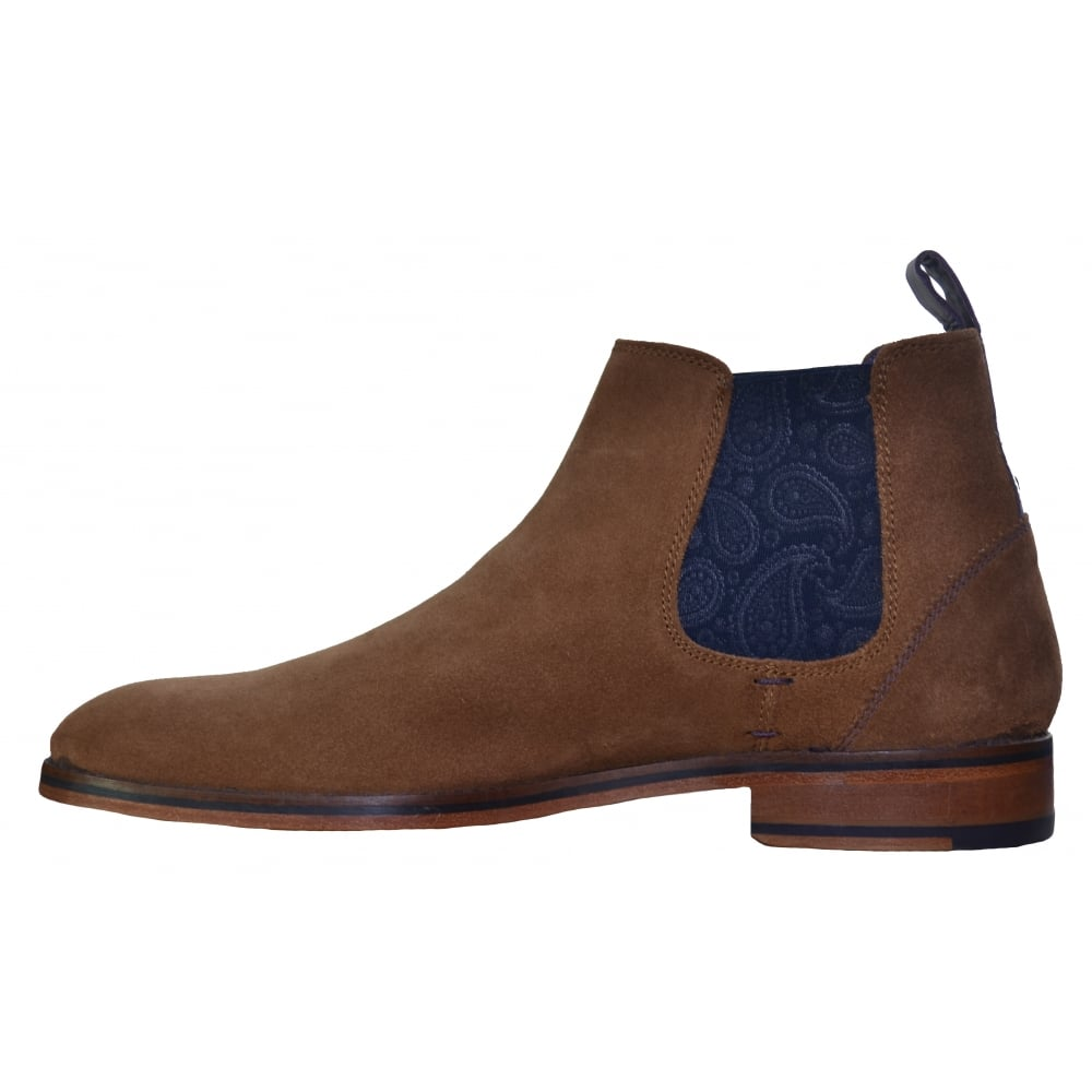 mens ted baker tan chelsea boots