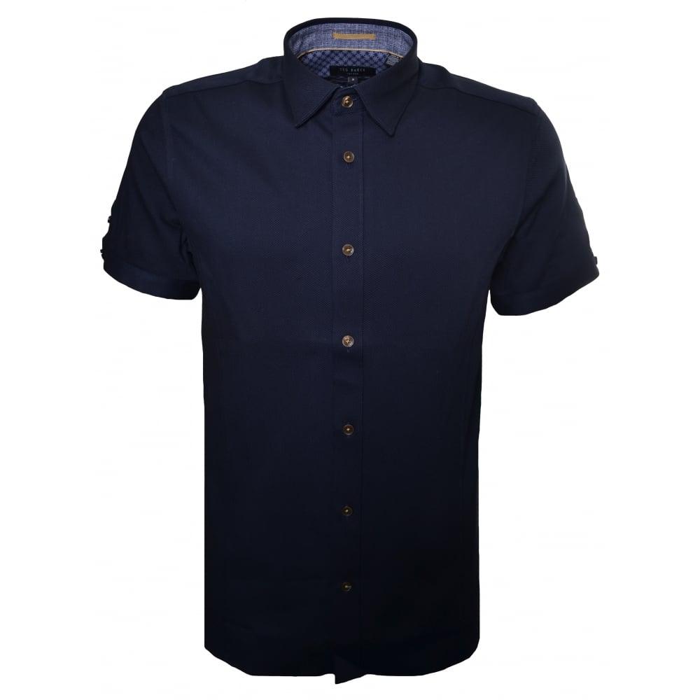 Ted baker mens short sleeve shirt for Ted baker shirts sale online