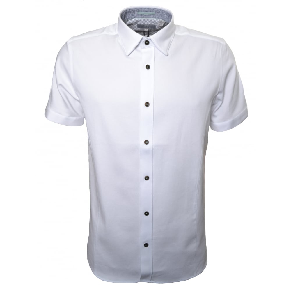 Ted Baker Mens Short Sleeve Shirt