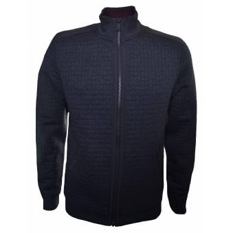 Ted Baker Men's Ken Charcoal Quilted Bomber Jacket