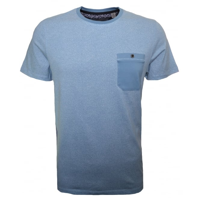 Ted Baker Men's Light Blue Motor T-Shirt