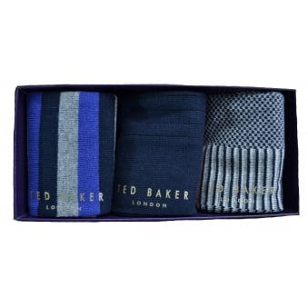 Ted Baker Men's Marz Pack Of Three Socks