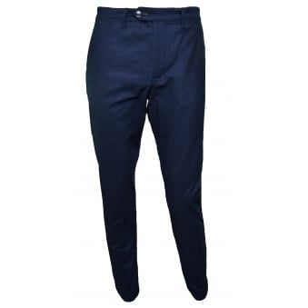 Ted Baker Men's Navy Blue Wegton Trousers