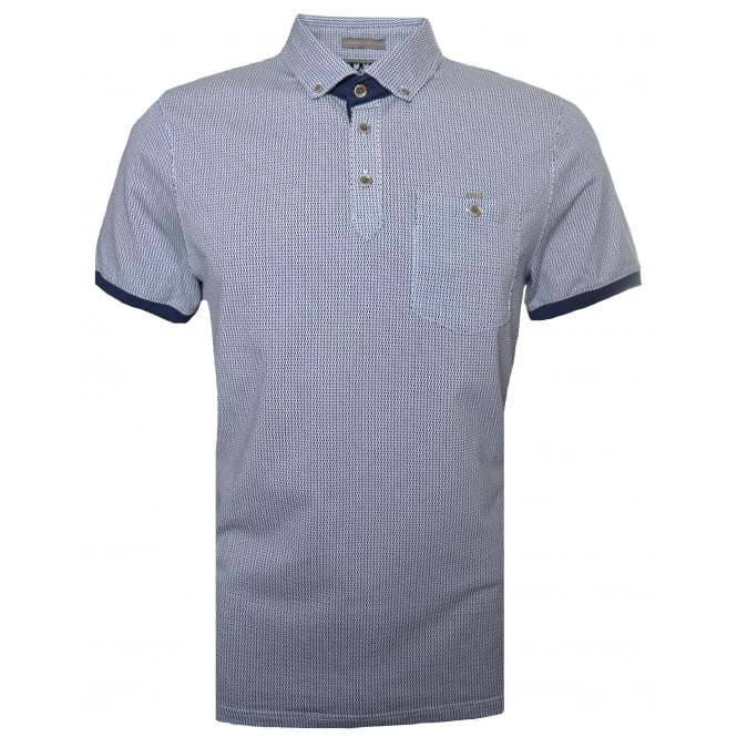 Ted Baker Men's Navy Luke Polo Shirt