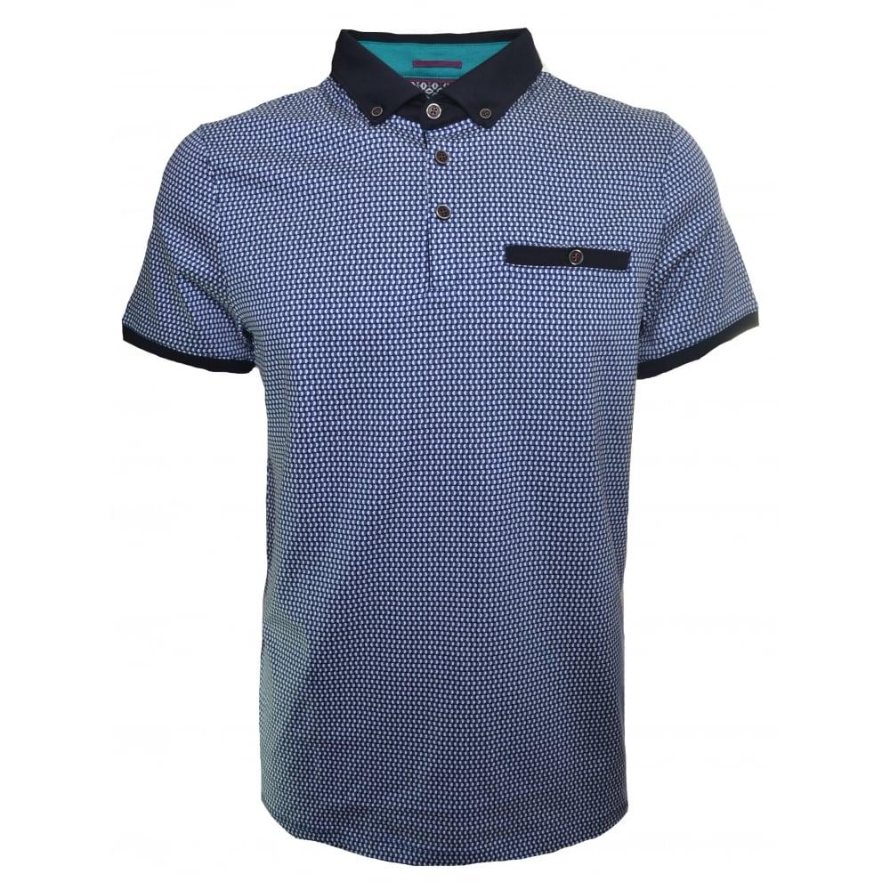 e37e35f4645f0b Ted Baker Men  039 s Poptop Mid Blue Polo Shirt