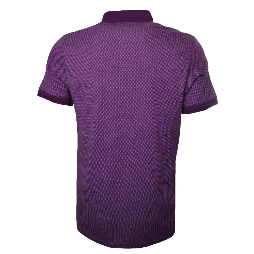 1bcb449bbacd5a Ted Baker Men  039 s Purple Otto Polo Shirt