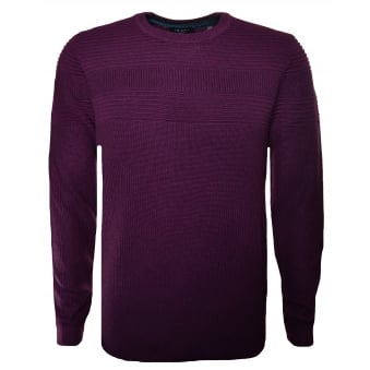Ted Baker Men's Purple Rossi Knitted Jumper