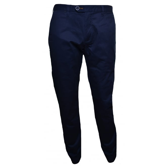 Ted Baker Men's Slim Fit Navy Blue Exmoor Chino's