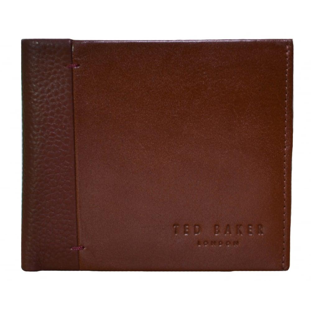 5485012c6 Ted Baker Men  039 s Tan Splitz Leather Wallet