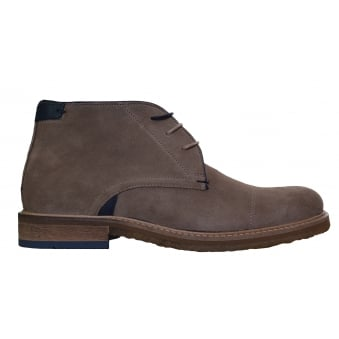 Ted Baker Men's Tan Suede Tomlin Boots