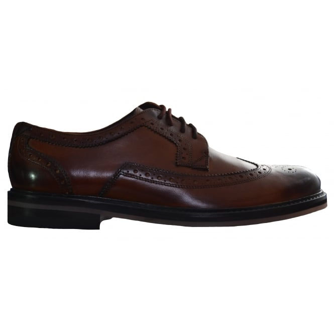 Ted Baker Men's Tan Ttanum3 Brogue Shoes