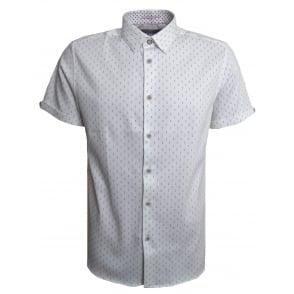 05c2dc28840c2 Ted Baker Men s White Franko Short Sleeved Shirt