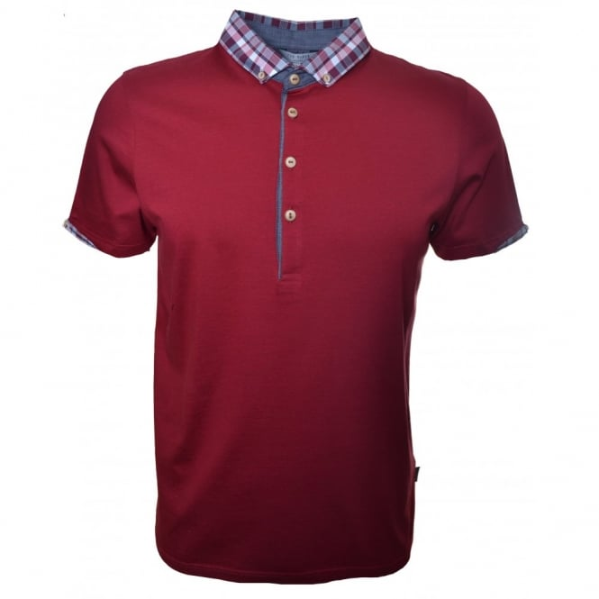 Ted Baker Red Thebest Polo Shirt