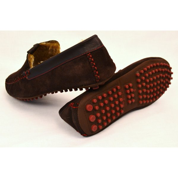 fc30f9979 men s ted baker carota 3 suede am brown slippers