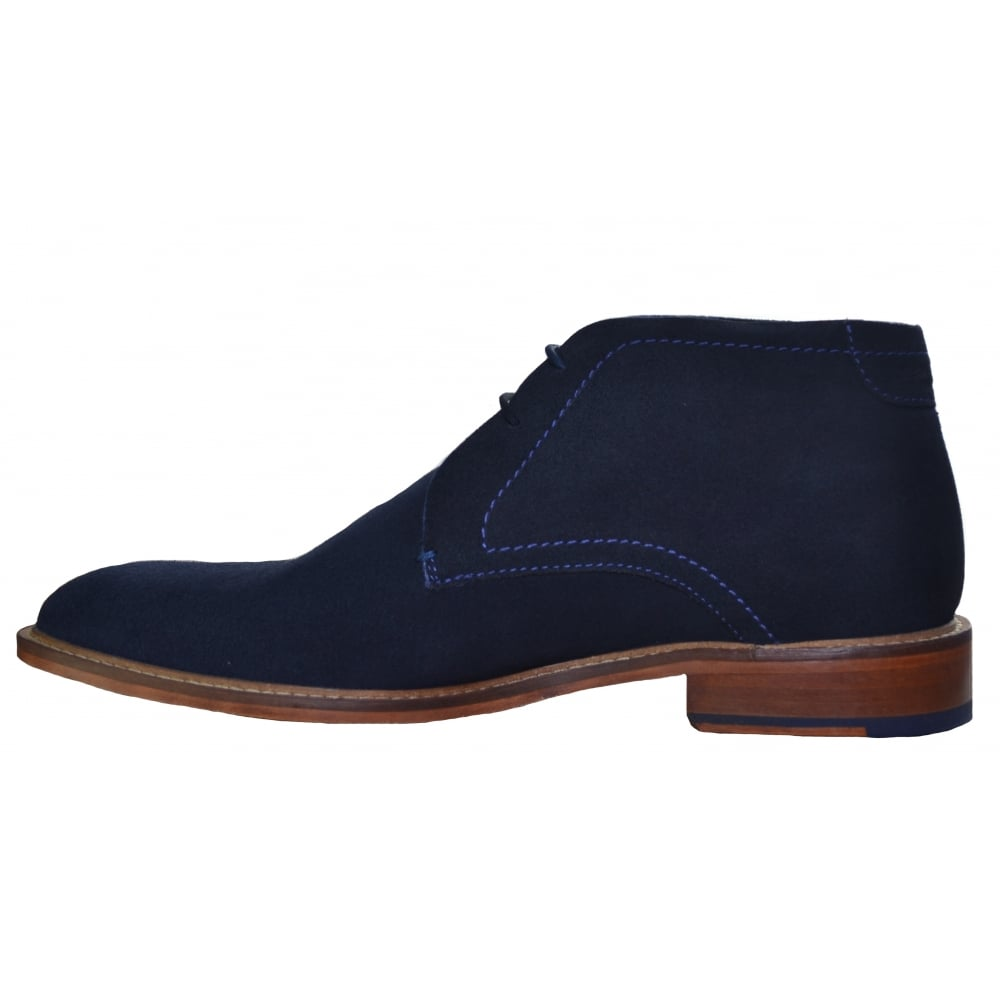 06b8b58d0 Ted Baker Torsdi 3 Dark Blue Suede AM Casual Ankle Boots