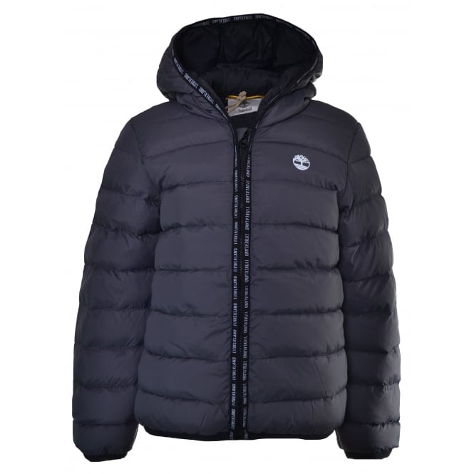 Timberland Infants Dark Grey Puffer Jacket