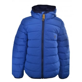 Timberland Kids Blue Quilted Jacket