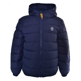 Timberland Kids Navy Quilted Jacket