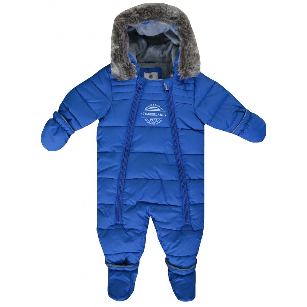 d7f4347e9 timberland blue snowsuit