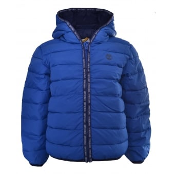 Timberland Infants Blue Quilted Jacket