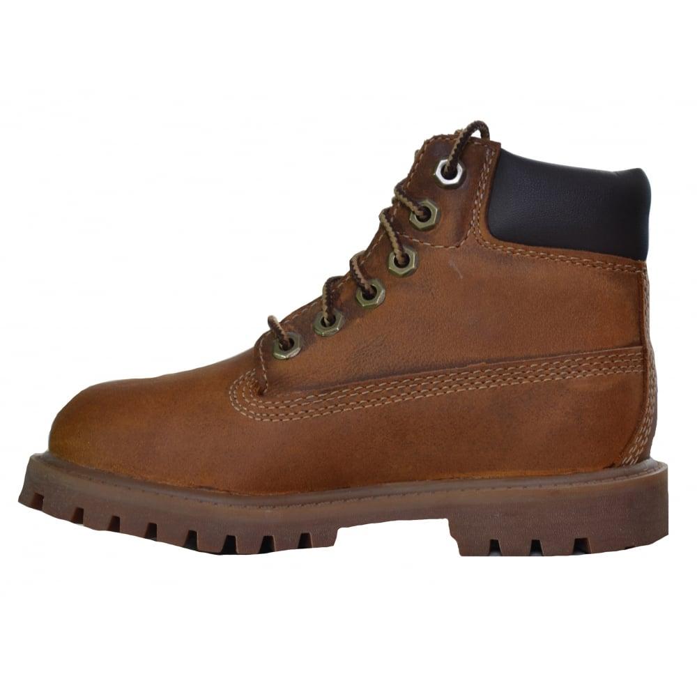 b2bc38626 Tap image to zoom. Timberland Infants, Children's and Juniors 6 Inch  Premium Rust Medium Boot