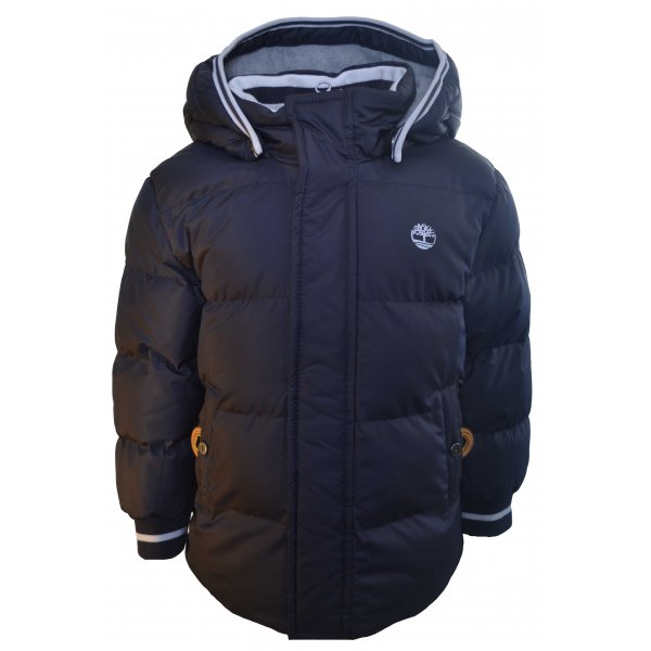 7d116e49f09e Timberland Kids Dark Grey Black Puffer Jacket