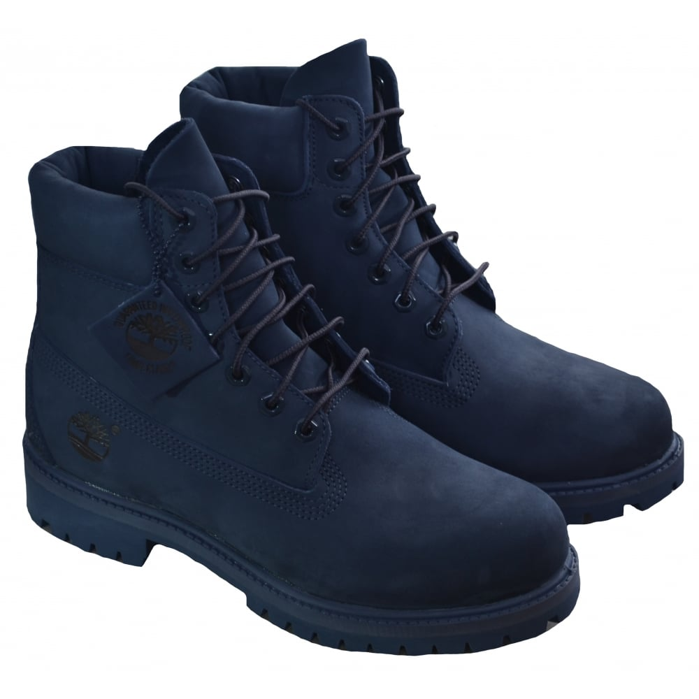 timberland men s 6 inch navy blue boot f5968123a91