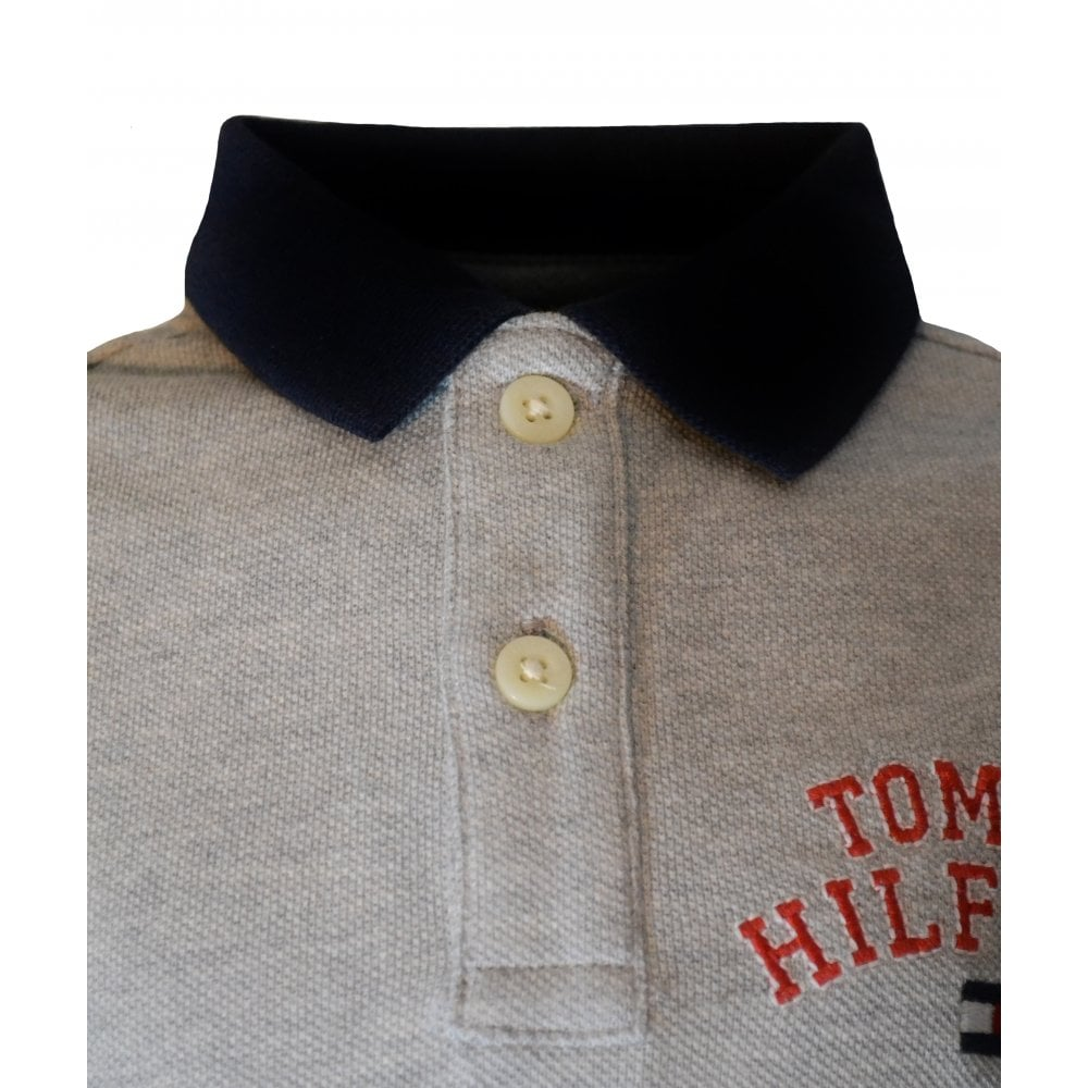 ca2aa4043 Tommy Hilfiger Infants Grey Polo Shirt
