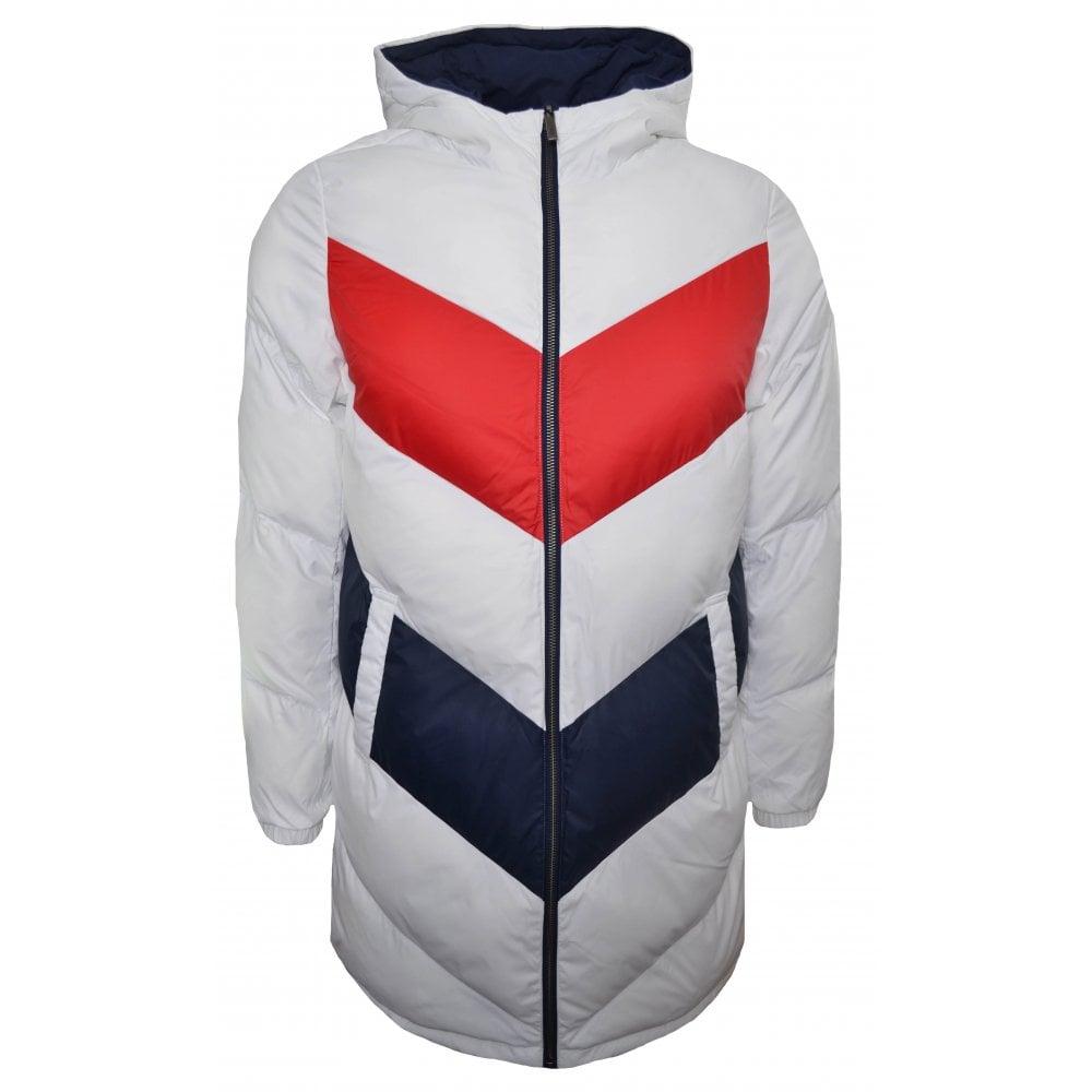 602f3c5670be8d Tommy Hilfiger Girls Colour Block Reversible Jacket