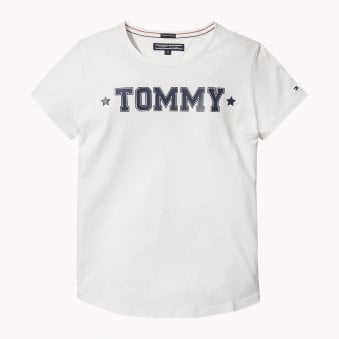 8bbd8fc90d9a Tommy Hilfiger Girls Snow White T-Shirt