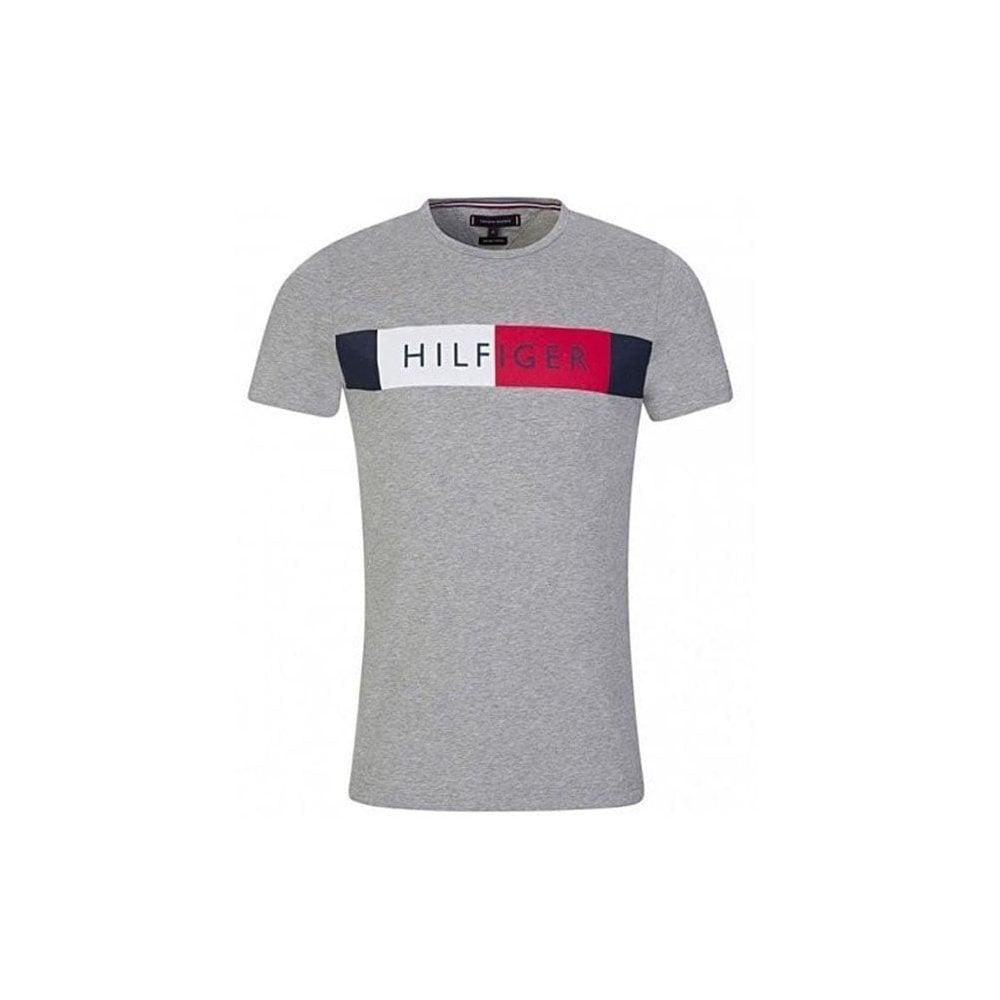 Gray T shirt Tommy Hilfiger for men
