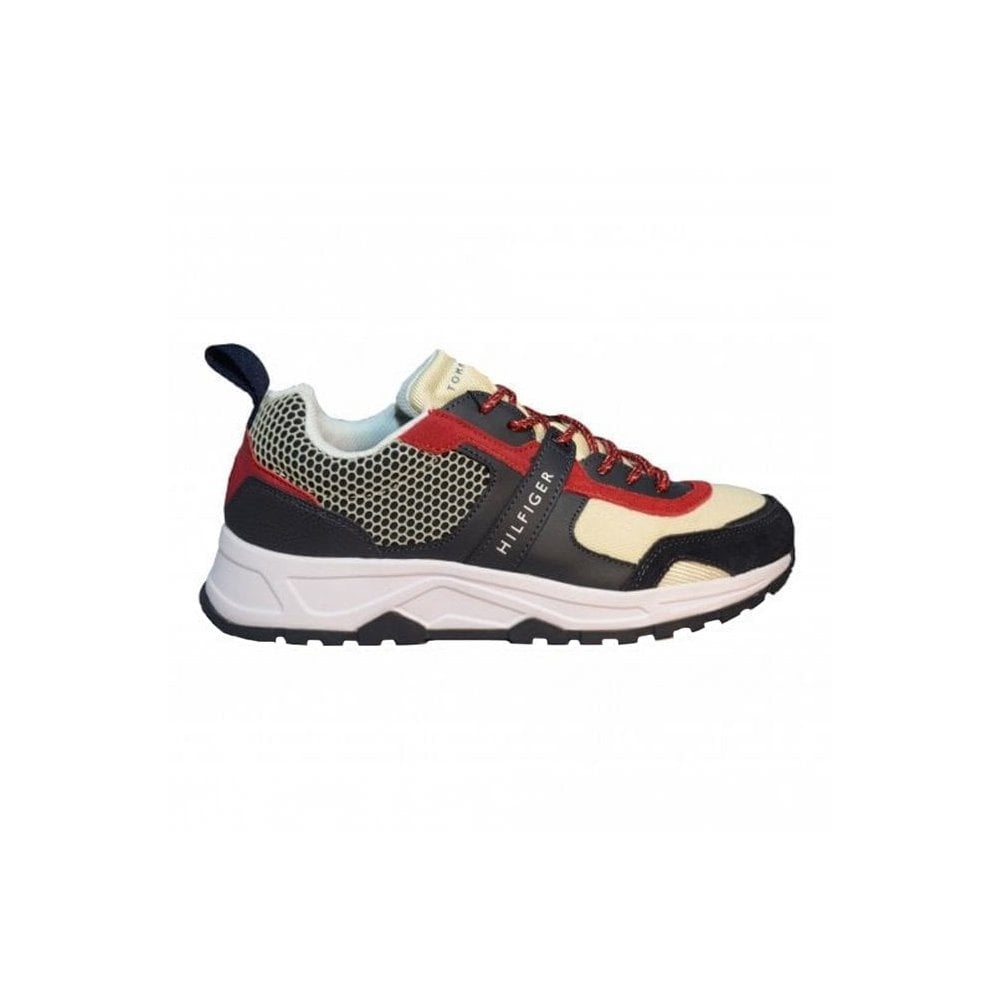 Tommy Hilfiger Mens Material Mix Runners