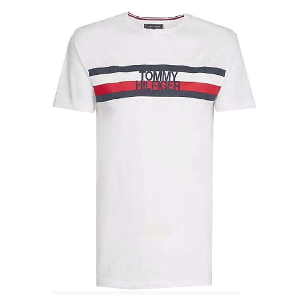 am besten kaufen elegante Form gutes Geschäft Tommy Hilfiger Men's Tommy Hilfiger Mens Signature Logo T-Shirt