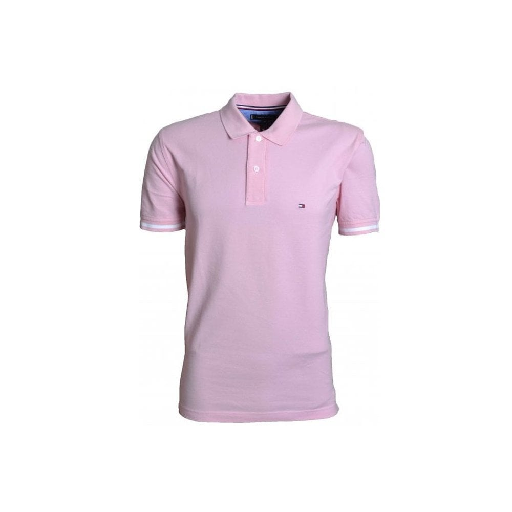 code promo 96eea 009aa Tommy Hilfiger Coral Blush Polo Shirt