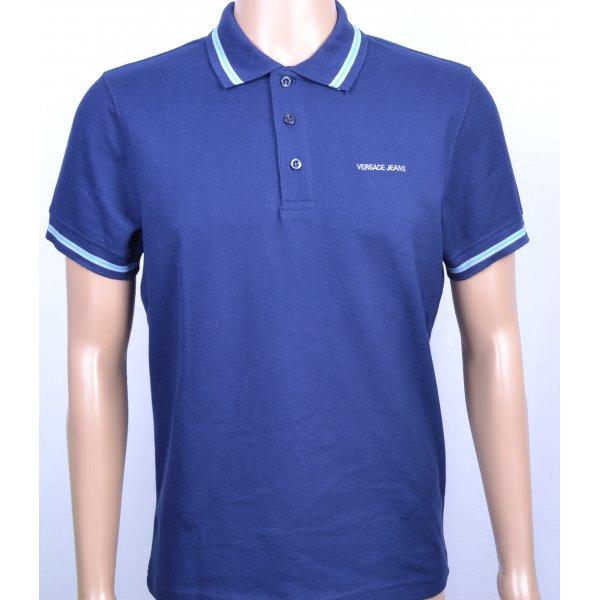 f577b63924d431 versace jeans small logo polo shirt